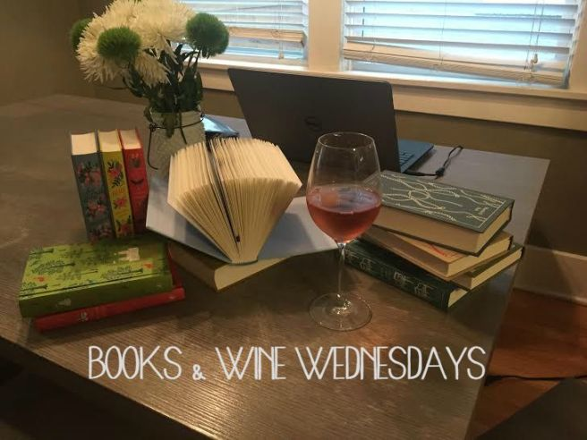 books & wine wednesday IMAGE